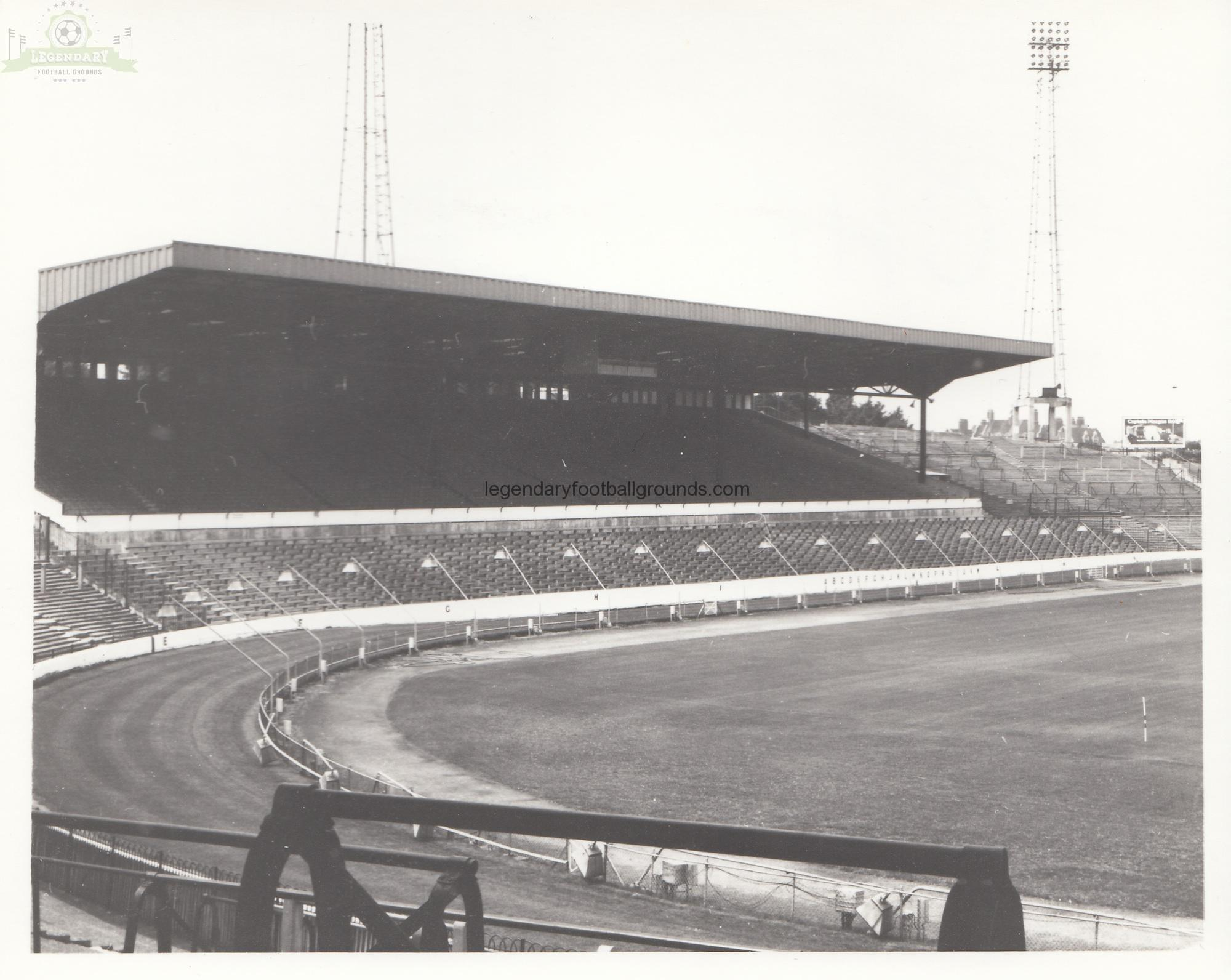 BIG Chelsea - Stamford Bridge - West Stand 1 - August 1969