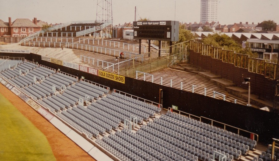 Coventry City - Highfield Road - East Stand Swan Lane 1 - September 1969