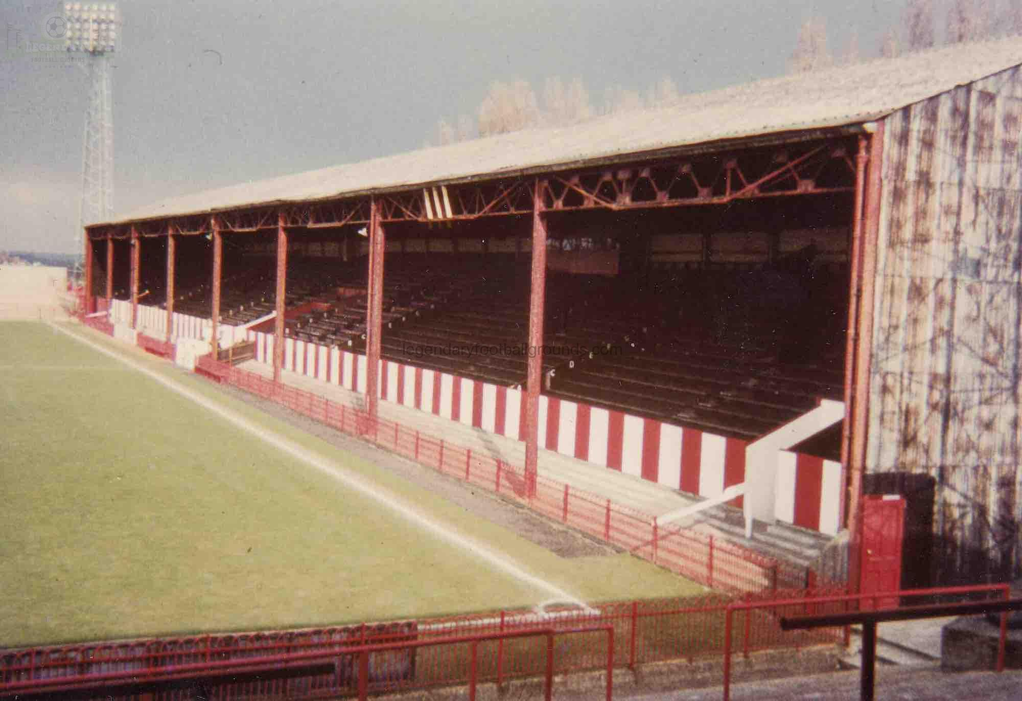 AFC Bournemouth - Dean Court - SE Main Stand 1- late 1970s(1)