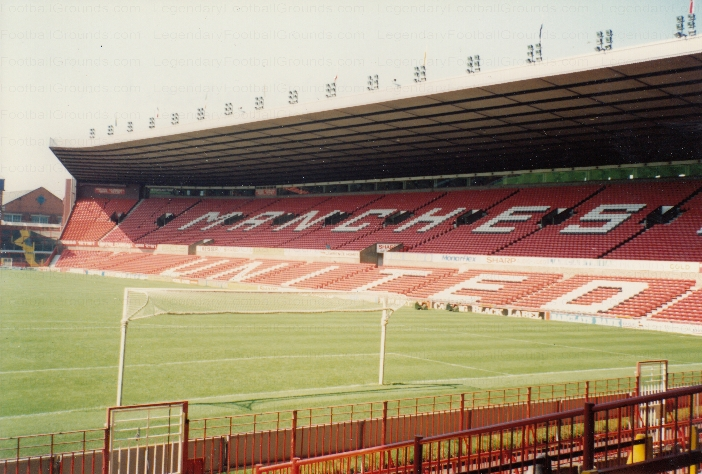 Manchester United - Old Trafford - North Stand 4 - 1991