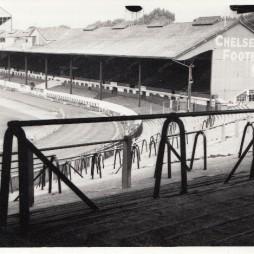 Chelsea - Stamford Bridge - East Stand 4 - August 1969 - BW