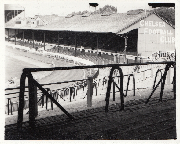 Chelsea - Stamford Bridge - East Stand 4 - August 1969 - BW